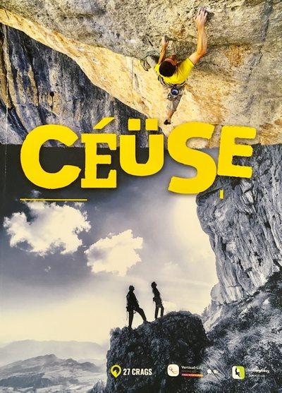Průvodce Ceüse vydala dvojice domácích lezců (Laurent Girousse a Rolland  Marie) febd79d0508