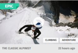 The Clasic Alpinist - Ueli Steck
